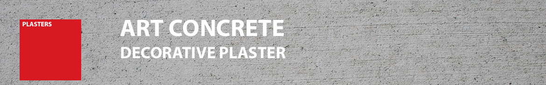 ART CONCRETE DECORATIVE PLASTER